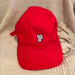 PINK red baseball hat
